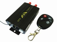 Wholesale Vehicle Promotion - Promotion !!! Car GPS Tracker System GPS GSM GPRS Vehicle Tracker Locator TK103B with Remote Control SD SIM Card Anti-theft