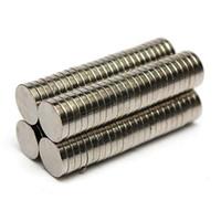 Wholesale Circular Disc Magnets - 100pcs Dia. 8mm x 1.5mm N50 Round Magnet Rare Earth Neodymium Permenent Magnets Circular Art Craft Fridge Magnet 8 x 1.5mm