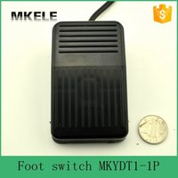 Wholesale Factory Direct Medical - MKYDT1-1P high frequency 50-60Hz factory direct top new black wired mini size heavy duty medical foot switch