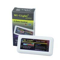 tela de zona venda por atacado-Mi-luz série rgb + branco 2.4g touch screen led controlador 4-zone rgbw controlador led dimmer sem fio para led strip / lâmpada