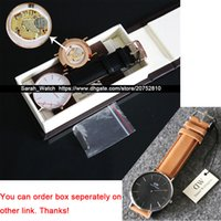 Wholesale Metal Strap Watches - Best Quality 36mm & 40mm Men Women Watch White   Black FACE Leather   Nylon   Metal STRAP Watch In same link