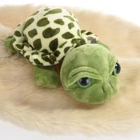 Wholesale Stuffed Turtles Big Eyes - Wholesale- New Cute Big Eyes Green Tortoise Turtle Animal Baby Stuffed Plush Toy Gift 20CM #84165