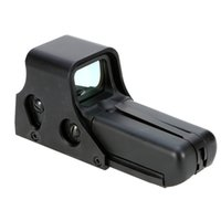 Wholesale Wholesales Scopes - Holographic Tactical Red Green Dot Reflex Sight Scope Riflescope for Hunting Y1808