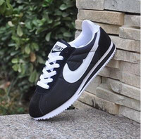 Wholesale Hot Shells - FAST SHIPPING Hot new brands Casual Shoes men and women cortez shoes leisure Shells shoes Leather fashion outdoor Sneakers size 36-44