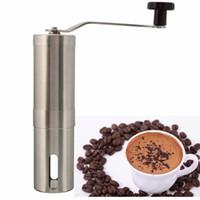 Wholesale Grinders Coffee - Stainless Steel Hand Manual Coffee Bean Grinder Mill Kitchen Grinding Tool