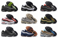 Wholesale Mens Sport Boots For Cheap - 2017 New Colors Max 95 Running Shoes For Men,Cheap Maxes 95s OG Sport Shoes Athletic Trainers 95 Sneakers Mens Boots US 7-12