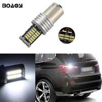 Wholesale E46 Lights - LED 30SMD 1156 led car lighting Ba15s S25 Backup Reverse Lights Bulb For BMW 3 5 SERIES E30 E36 E46 E34 X3 X5 E53 E70 Z3 Z4