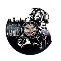 Wholesale Plastic Joker - Harley Quinn and Joker Theme Vinyl Record Clock by Gullei.com