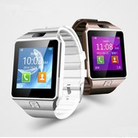 Wholesale Wristband For Mobile Phone - Smart Watch Dz09 Wristband DZ09 watches for iPhone Android Watch Smart SIM Intelligent Mobile Phone Sleep State Smart watch Retail Package