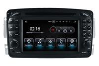 mercedes benz gps navegação dvd venda por atacado-Android 8.0 Car DVD Player Navegação GPS para Mercedes Benz C W203 Um W168 CLK C209 W209 W463 Vito Viano com Rádio 4Core 4G + 32G