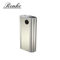 Commercio all'ingrosso - Originale Wismec Noisy Cricket II-25 Box Mod alimentato da Dual 18650 Cells Alternative Operating Mode Vape II 25 Vaporizer