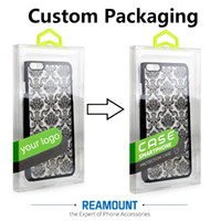 Wholesale Apple Packing Design - 150 pcs Personality Design Luxury PVC Packaging Retail Package Box for iPhone 6 7 Cell Phone Case Gift Pack