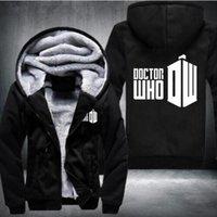 Wholesale Usa Personalities - Hoodies & Sweatshirts fashion New autumn and winter women and men sweatshirt hoodie personality dalek doctor who hoodie USA Size fast ship