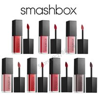 Wholesale Hours Brand - Brand New Arrival Smashbox Always On 10 Colors Matte Liquid Lipstick 8-Hour Power Pout Long Lasting Lipstick Free Shipping Drop Shipping