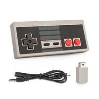 Wholesale Gaming Receiver - 2017 Wireless USB Plug and Play Gaming Controller Gamepad for Nintendo for NES Mini Buttons Classic Edition With Wrireless Receiver