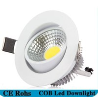 Wholesale Cob High Power Led 5w - High Power Dimmable COB Downlight Led Light Ceiling Lamp 5W 6w 7W 12w COB Led Recessed Indoor Lighting with Led driver