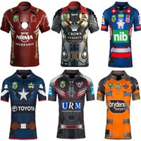 Wholesale Broncos Jerseys - 2017 NRL National Rugby League Newcastle cknights Brisbane Broncos Melbourne Storms Tigers Sea Eagles Cowboys jerseys Dragons Rugby Shirts