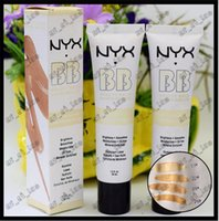 Wholesale Cream Bb Product - 2017 1PCS NYX Concealer BB Cream 30g Moisturizing Foundation 4 Color Naked Makeup Base Isolation Body Concealer Cream Beauty Product