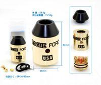Wholesale Force Electronics - Wholesale- SXK New Arrived Rogue Force rda Copper Brass atomizer 24mm diameter vaporizer Available Electronic Cigarette Vape Tank