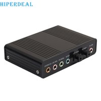 Wholesale S Advanced - Wholesale- HIPERDEAL Advanced For USB External S PDIF Optical Sound Card Channel 5.1 Box DAC Audio For PC Laptop 2017 New Arrivals 1PC