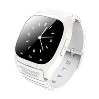 Wholesale Music Window - Smart watch M26 Sport Bluetooth Smart Watch With LED Alitmeter Music Player Pedometer For Apple IOS Android Windows Smart Phone