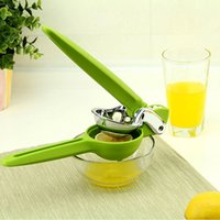Frutta Verdura Juicer Squeezer Manuale Estrattore Juice Plastica Acciaio inox Citrus Press Sprayera Lemon Orange Kitchen Tools