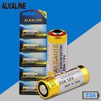 Wholesale A23 Battery Free Shipping - Free shipping 20pcs lot 23A 12V L1028 Alkaline battery Doorbell battery Remote Control Batteries MN21 A23 12V Baterias