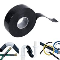 Wholesale Bonding Tapes - Wholesale- Black Rubber Performance Repair Bonding Rescue Self Fusing Electrical Wire Hose Tape 4meters