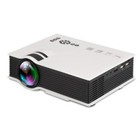 Wholesale projects mini - Wholesale-New upgrade models UC40 + home projector mini-mini support for 1080P playback multimedia projector can project a 34-138 inches