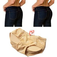 Wholesale Hips Booster - Sexy Padded Underwear Pad Pants Panties Briefs Buttock Lift Butt Enhancer Hip Pads Booster