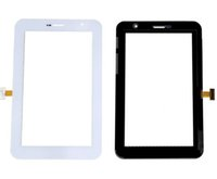 Wholesale 7inch Screen Replacement - AAA New Black White Touch Screen Panel Glass Digitizer Sensor For Samsung Galaxy Tab P6200 7inch Replacement Part Repair Parts