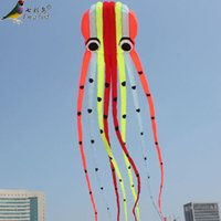 10m NUOVI colori per acrobazia singola Linea Parafoil Octopus POWER Kite Outdoor Fun Toys