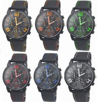 Wholesale aviator quartz sports for sale - Group buy Mix Colors Men Causal SPORT Military Pilot Aviator Army Racing Silicone Watch RW015