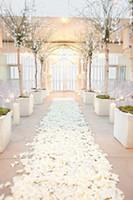 ingrosso spedizione di fiori artificiali-Seta poco costosa dei petali del fiore di rosa 1000pcs un trasporto libero delle decorazioni artificiali della festa di compleanno di nozze dei fiori artificiali Trasporto libero