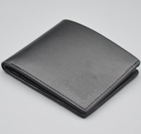 Wholesale Lycra Masculina - Hot Luxury brands Male Famous Brand Wallets High quality Leather Short Bifold Credit Card Front Pocket Man purse arteira Masculina With Box