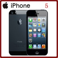 """Wholesale Dual Core 1ghz 3g - Unlocked Apple Original iPhone 5 cell phone 16&32&64GB Dual-Core 1GHz 3G WIFI GPS 8MP 1080P 4.0"""" IPS Good quality"""