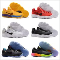 Wholesale Hyperdunk Shoes - Newest Hyperdunk 2017 Low EP Men Basketball Shoes Top Quality Breathable Comfortable Summer Men's Sport Sneakers Size US7-12