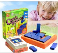 Wholesale Learning Jigsaw Puzzle Wholesale - Wholesale- Classic Tangram Jigsaw Puzzles IQ Brain Teaser Children's Cubes Toy Baby Learning Educational games Toy Clever board juguetes