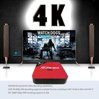 Wholesale Iptv One - ARABIC IPTv E6 Android tv box with free one year IPTV 2000+channels ARABIC INDIA UK DE TURKEY IPtv OS 6.0 TV Box 4K H.265 Memory 2GB+ 8GB