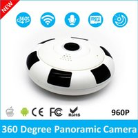 Wholesale day night camera audio resale online - 360 Degree WiFi IP Camera Home Security Camera P Night Vision Infrared Two Way Audio Baby Monitor Wireless Network For