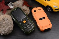 Wholesale big keyboard phones resale online - Unlocked Cheap LED Flashlight Dustproof mobile phone Dual sim card big button Long Standby for old man outdoor Russian keyboard cellPhone
