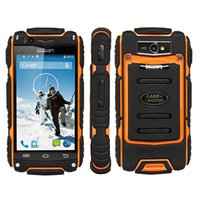 Discovery V8 3G Rugged Smartphone 4.0 pollici Android 4.2 Dual Core 256 MB di RAM 512 MB ROM Dual SIM 2800mAh di Wifi GPS Bluetooth
