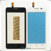 Wholesale Huawei G525 Phone - Wholesale- With Tape Mobile Phone Touch Screen Digitizer For Huawei Ascend G510 G520 G525 U8951 Front Glass Sensor Touchscreen Touch Panel