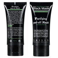 Face blackhead removal cream - SHILLS Deep Cleansing purifying peel off Black mud Facail face mask New Blackhead Removal facial mask ml