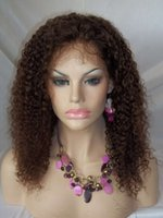 Wholesale Jerry Curl Lace Wig Human - Clearance 18'' Human Hair Lace Front Wigs #2 jerry curl lace front wig 150% density