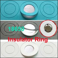 Wholesale Point Ring - 18650 li-ion battery anode insulation gasket Insulator Ring for 18650 series Li-ion battery anode hollow point insulator gasket