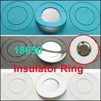 ringisolator großhandel-18650 Li-Ionen-Batterieanoden-Isolierdichtung Isolierring für 18650 Li-Ionen-Batterieanoden-Hohlpunktisolierdichtung
