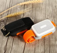 Wholesale Wholesale Small Radio Speaker - Bluetooth Sports Music Portable Mini Sport Arms Speaker TF Card FM Audio Radio Speakers Handsfree function Small is Beautiful Speaker DHL