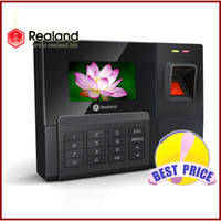 Wholesale Fingerprint Time Attendance Tcp - Fingerprint Time Attendance Recorder Clock ZDC201T TCP IP BEST VALUE Economy Free Shipping