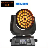 Freeshipping TP-L621A 36x15W RGBWA 5IN1 Tyanshine Led Moving Head Zoom Light 5 Color Led Washer Эффект Silent Smooth Zoom Dimmer ЖК-дисплей